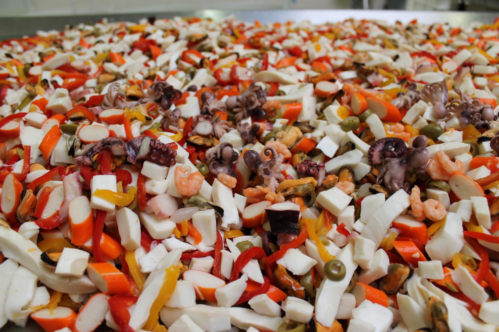 Antipasto mare con verdure